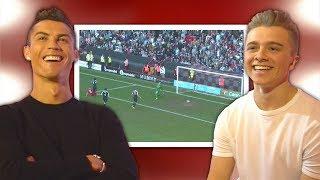 Video Cristiano Ronaldo Reacts To My Football Videos MP3, 3GP, MP4, WEBM, AVI, FLV Agustus 2019