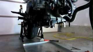 9. Honda 919 Powdercoated Oil Pan
