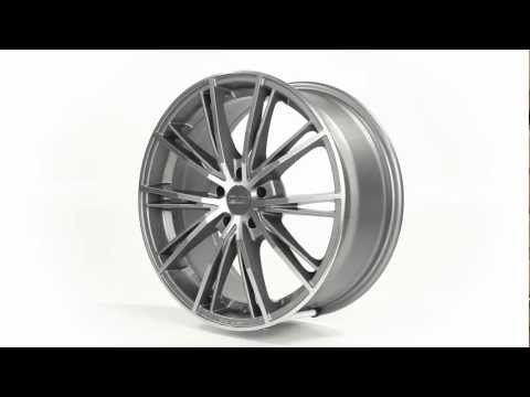 Диски OZ Racing ENVY, цвет MATT SILVER TECH DIAMOND CUT