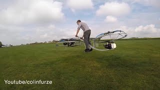 Hoverbike in real life [MUST WATCH] || Colin furze
