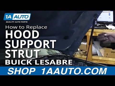 How To Install Replace Sagging Hood Support Strut 1993-99 Buick Lesabre and Park Avenue