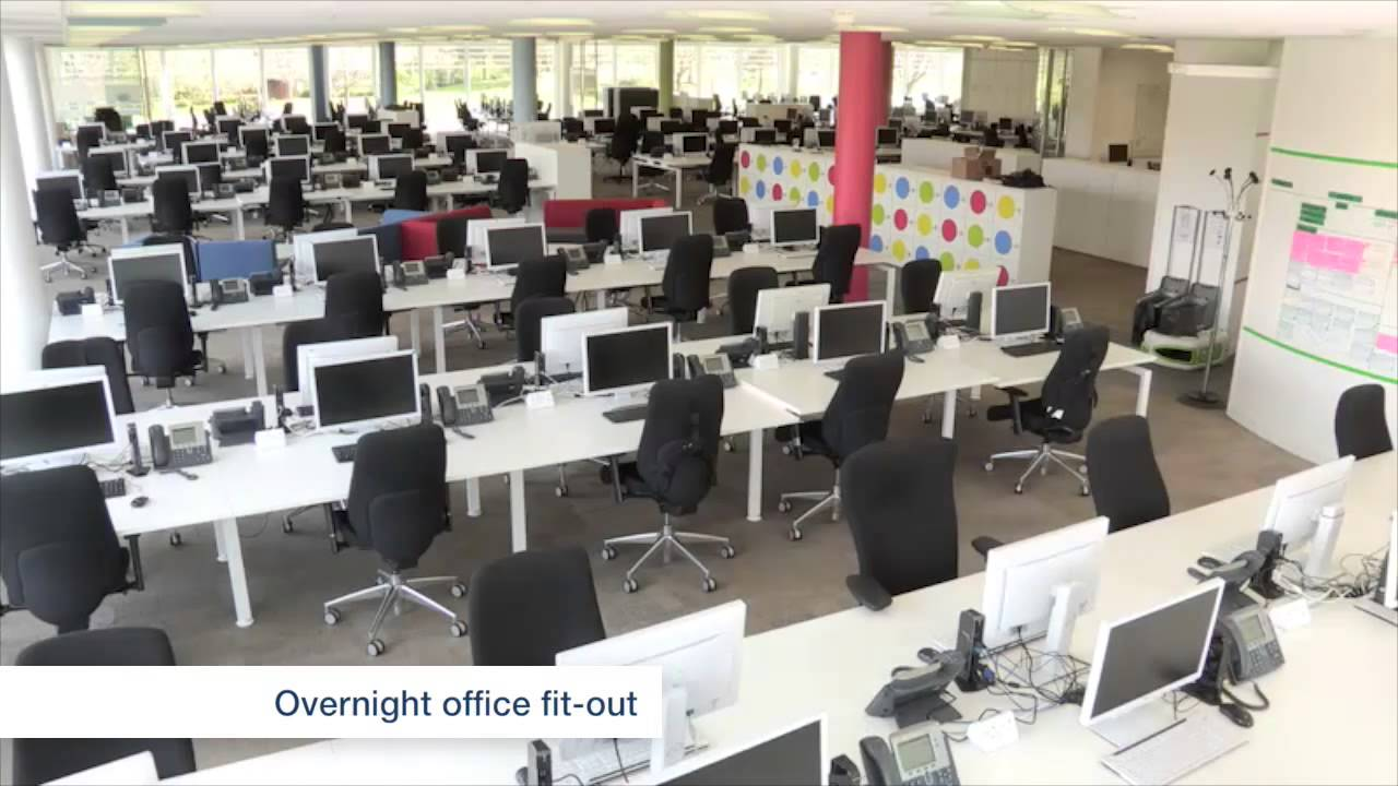 Agile workspace office fit out