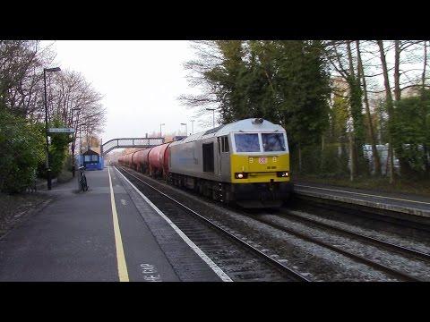 DBS 60066, DCR 56301 & GBRf 66756 at Bromsgrove 8th April...