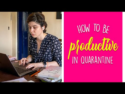 How To Be More Productive Right Now! #QuarantineLife