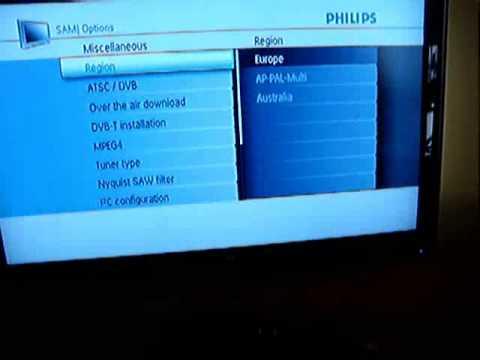 comment installer tnt sur tv philips