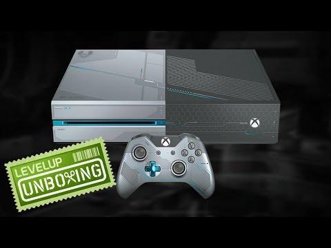 UNBOXING: Xbox One edición limitada de Halo 5: Guardians (видео)