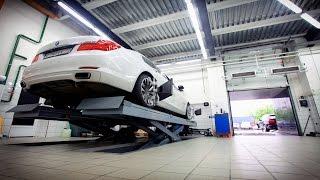 Сход - развал на BMW 7 F01 | YANIS GREK
