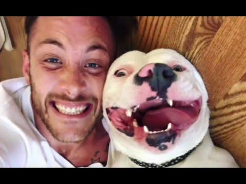 他和領養的狗狗拍照 卻替自己惹上麻煩 警察直接找上門...
