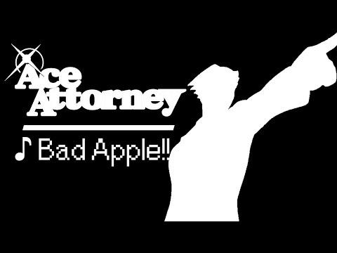 ♪ Bad Apple!! -【逆転裁判】/ Ace Attorney Ver.