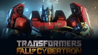 Transformers Fall Of Cybertron (The Movie-Full Length) {HD}