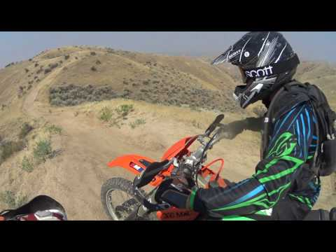 A day on a KTM 250SX, I suck!!