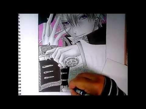 Speed Drawing - KIryuu Zero (vampire Knight)