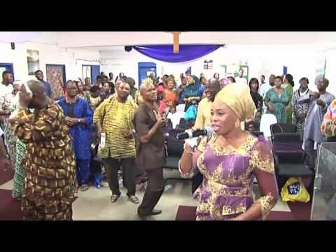 TOPE ALABI in CAC Agbala Itura East London. United Kingdom
