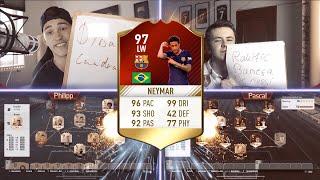 FIFA 17 - 97 NEYMAR SQUAD BUILDER BATTLE 🔥 !! FT. PHINEASFIFA ⛔ !!