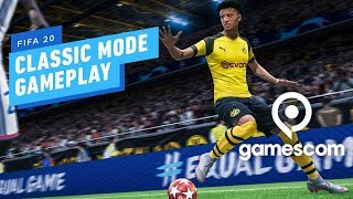 11 Minutes of FIFA 20 Classic Mode Gameplay (4K 60fps) - Gamescom 2019 by IGN