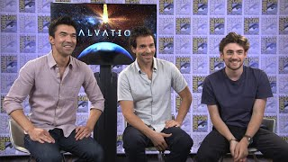 Salvation stars Santiago Cabrera (Darius Tans), Charlie Rowe (Liam Cole), and Ian Anthony Dale (Harris Edwards) talk more about their characters and what fans can expect from the rest of Season 1. Watch all-new episodes of Salvation on Wednesdays at 9/8c on CBS and CBS All Access.