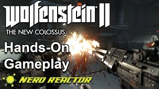 Joey plays a little bit of Wolfenstein II: The New Colossus on PC. He's doing one thing and one thing only: killin' Nazis.Subscribe: https://www.youtube.com/user/nerdreactor?sub_confirmation=1Support us: http://www.patreon.com/nerdreactorNerd Reactor Store: https://shop.spreadshirt.com/nerdreactor/Website: http://nerdreactor.comInstagram: https://instagram.com/nerdreactorFacebook: http://facebook.com/nerdreactorTwitter: https://twitter.com/NerdReactor