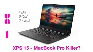 Lenovo ThinkPad X1 Extreme Preview v XPS 15 v MacBook Pro 15