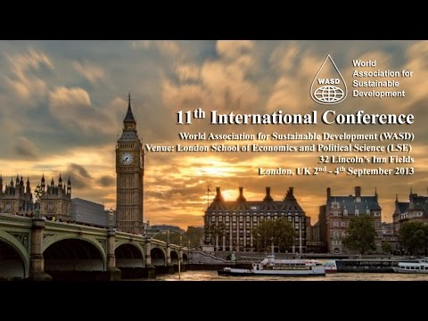 World Association for Sustainable Development 2013 Conference