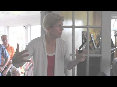 Elizabeth Warren on Debt Crisis, Fair Taxation