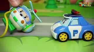 Предлагаем смотреть видео для детей с игрушками Робокар Поли и свинка Пеппа! В этой серии мы посмотрим как игрушки с мультика Робокар Поли обменивались ролями, а еще вспомним о том что правила нужно соблюдать, и к чему может привести их несоблюдение! Ну и конечно поиграем с нашими любимыми игрушками Маша и Медведь и свинка Пеппа! Приятного просмотра!Мы очень стараемся, чтобы #новые серии и новинки на нашем канале всегда были интересными и развивающими #видео для детей.Подписывайтесь на канал Приключения Игрушек и каждый день смотрите новые мультики https://www.youtube.com/channel/UCDZDmXlVV8wjuRSksAoFrNQ?sub_confirmation=1