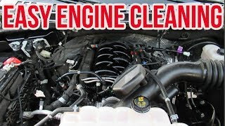 Video HOW TO CLEAN YOUR ENGINE - NO WATER NO SCRUBBING MP3, 3GP, MP4, WEBM, AVI, FLV Agustus 2019