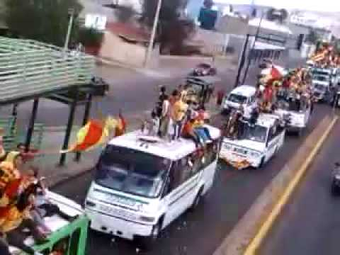 caravana locura 81 - morelia vs santos - Locura 81 - Monarcas Morelia