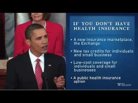 Obama's Health Plan In 4 Minutes