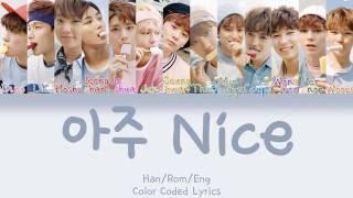 Video SEVENTEEN - Very NICE (아주 NICE) [HAN|ROM|ENG Color Coded Lyrics] MP3, 3GP, MP4, WEBM, AVI, FLV Juli 2018
