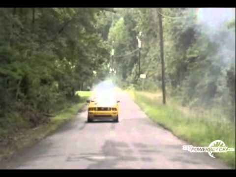 myPowerBlock: '06 Ford Mustang GT Burn Out