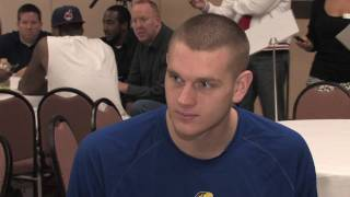 Cole Aldrich Draft Combine Interview