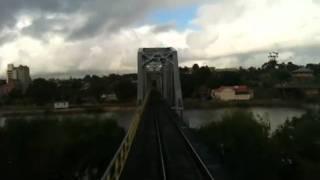 Murray Bridge Australia  city photos : Crossing Murray Bridge by Train heading toward Adelaide, South Australia