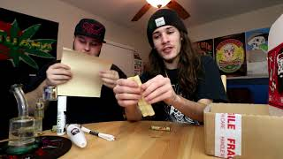 TOMMY CHONG DAILY HIGH CLUB UNBOXING by RawOG420