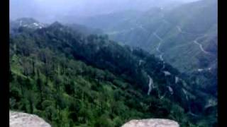 Kasauli India  City pictures : View from Lover's Point, Kasauli, India