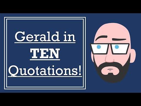 Gerald Croft in TEN Quotations - 'An Inspector Calls' GCSE English Literature Revision