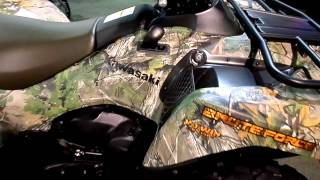 4. 2015 Kawasaki Brute Force® 750 4x4i EPS Camo