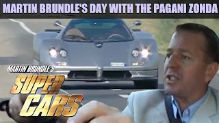 Martin Brundle's Day with the Pagani Zonda | Fifth Gear by Fifth Gear