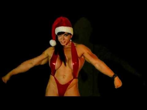 Hot White Christmas Bodybuilding Posing Routine (Full Trailer)