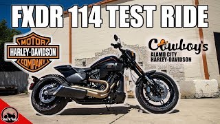 1. 2019 Harley-Davidson FXDR 114 Test Ride