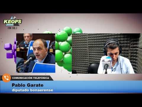"Diputado Pablo Garate: ""Vidal es la cara bonaerense del ajuste"""