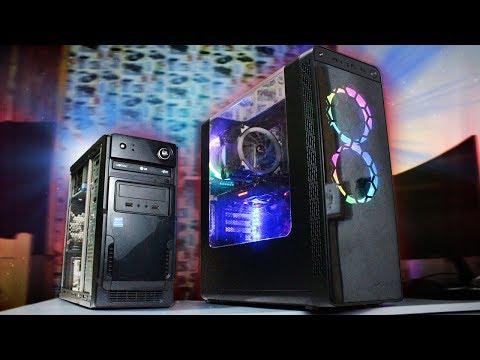 PC Gamer Barato X PC Gamer De Verdade - Qual Comprar / Montar em 2018?