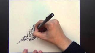 Video Realtime Version of Drawing an Imaginary City MP3, 3GP, MP4, WEBM, AVI, FLV September 2018