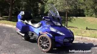 9. Used 2013 Can-Am Spyder RT-S Motorcycles for sale