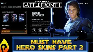 Most Wanted Hero Skins In Star Wars Battlefront 2 Part 2