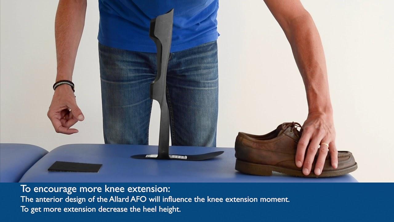 Allard AFO Step 6 Proximal Control