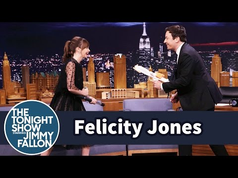 Felicity Jones Demos Her Badass Star Wars Fight Moves on