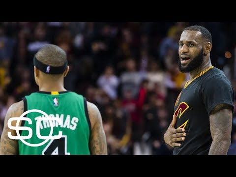 LeBron James' lack of Isaiah Thomas acknowledgement a sign? | SportsCenter | ESPN