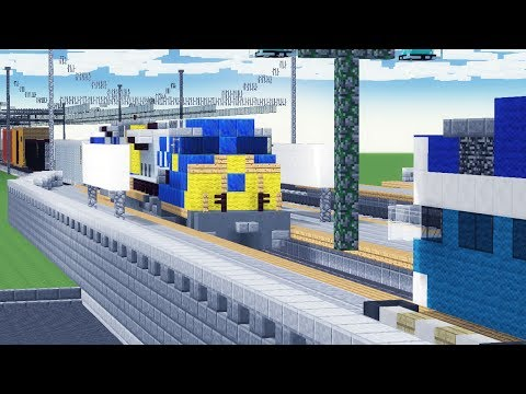 Minecraft CSX Rams COASTER Train Crash Animation