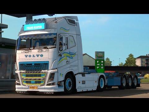 Truck + trailer Volvo FH Frans Kuiper v1.0