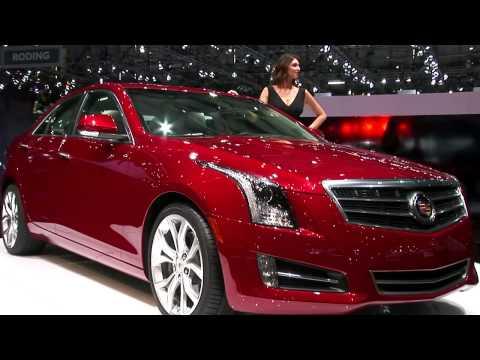 Cadillac  Женевский автосалон 2012 Cadillac ATS убийца BMW и Mercedes
